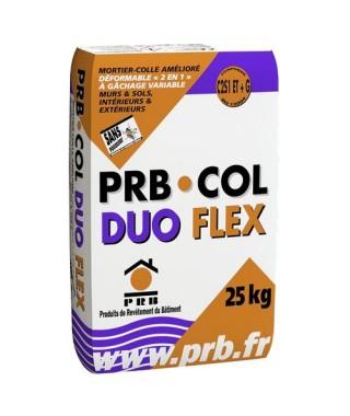 Colle duo flex PRB gris 25 kg