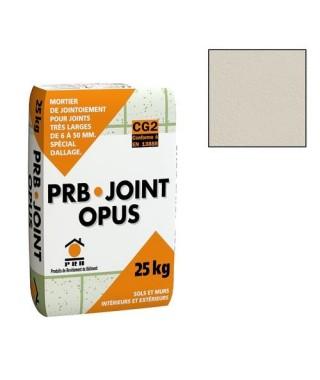 Joint opus PRB jaune paille 25kg
