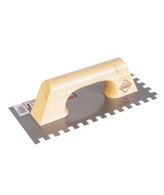 Peigne acier manche en bois Rubi 28cm (10x10)