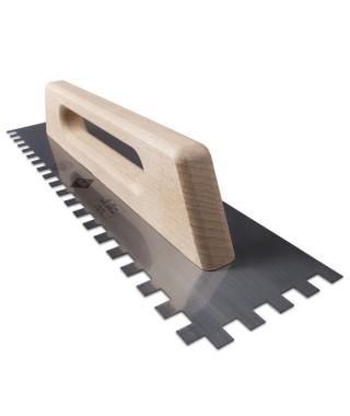 Peigne acier manche en bois Rubi 48cm (12x12)