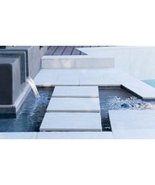 Carrelage extérieur 2cm Mirage Quarziti glacier 60x120 rectifié 60x120 rectifié