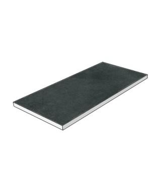 Carrelage Itt ash black 37.5x75 rectifié