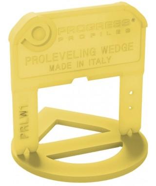 200 croisillons 2mm ép. autonivelants Progress PRLW2