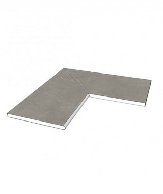 Margelle piscine angle 90 Mirage glocal ideal Gc 03