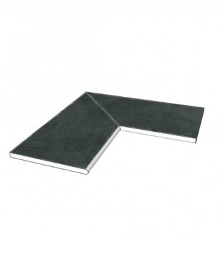 Margelle piscine angle 90 Mirage glocal absolute Gc 06