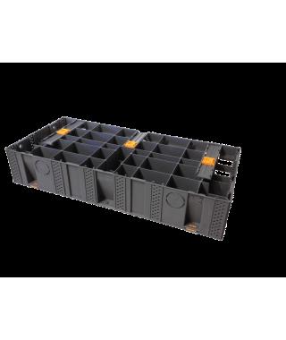 Escalier modulable extérieur de 93,4 cm modulesca