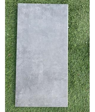 Margelle piscine gris antracite 29x60 demi rond LT33
