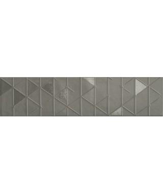Carreau Marca Corona Tone 7.5x30 Grey Geometric