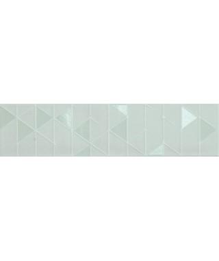Carreau Marca Corona Tone 7.5x30 Azure Geometric