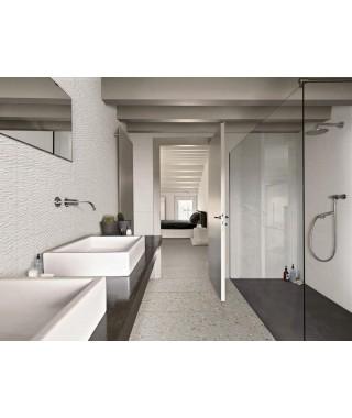 Faïence Ragno Resina 40x120 Bianco Struttura Wall 3D rettificato