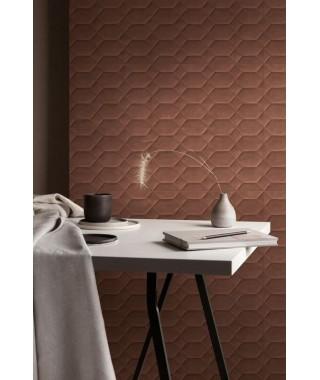 Faïence Ragno Resina 40x120 Terracotta Struttura Bee 3D rettificato
