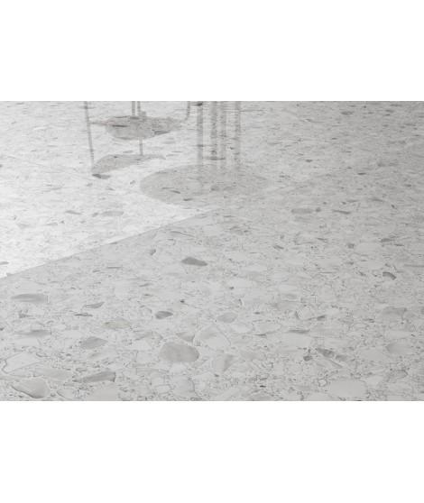 Carrelage Casalgrande Padana Macro 118x118 Bianco Lappato