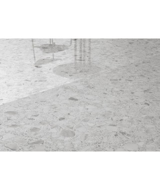Carrelage Casalgrande Padana Macro 118x236 Bianco Lappato