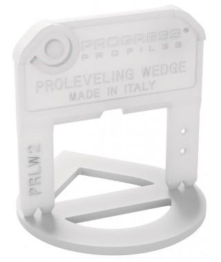 200 croisillons 3mm ép. autonivelants Progress PRLW3