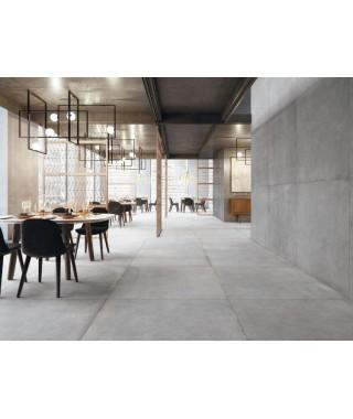 Carrelage intérieur gris clair imitation ciment : Refin Plain