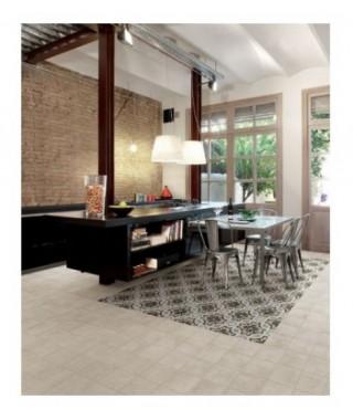 Carrelage decor Fioranese Cementine20 rectifié mat 20x20