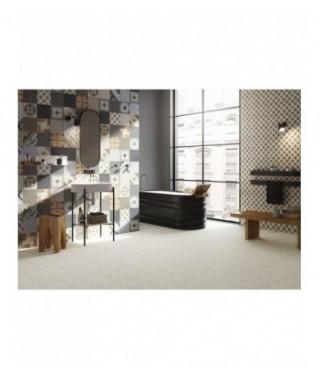 Carrelage decor Fioranese Cementine Retro rectifié mat 20x20