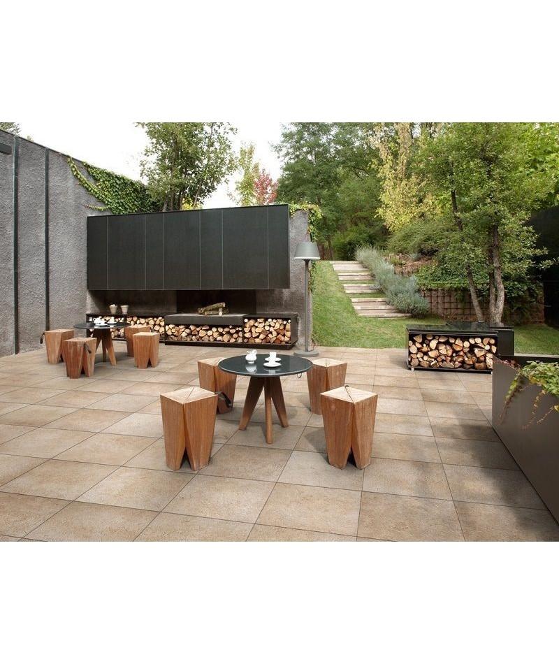 Carrelage terrasse Refin : Carrelage extérieur antidérapant 60x60 - Ain Carrelages