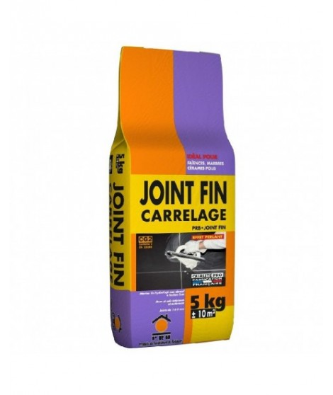 joint fin carrelage et fa ence hydrofuge 1 5mm prb gris 5kg ain carrelages. Black Bedroom Furniture Sets. Home Design Ideas