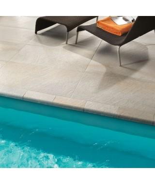 Carrelage ext rieur imitation pierre terrasse bordures Bordure carrelage exterieur