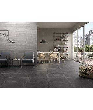 Carrelage sol Rak Ceramics Basic Concrete rectifié 60x60