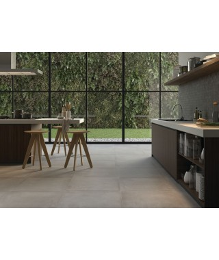 Carrelage sol Rak Ceramics Basic Concrete rectifié 75x75