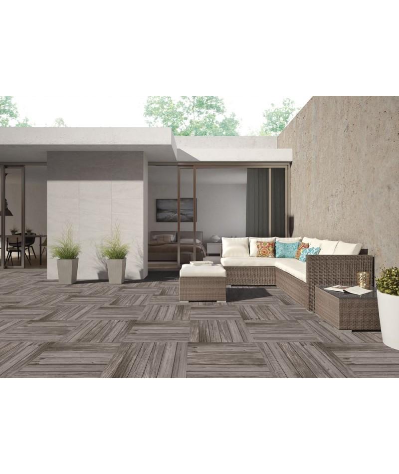 carrelage ext rieur 2cm halcon ferme rectifi structur 60x60 ain carrelages. Black Bedroom Furniture Sets. Home Design Ideas