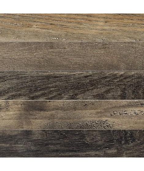 Carrelage imitation parquet Fioranese Wood_Mood chevron rectifié 7.8x53.3 Quercia