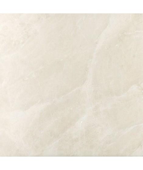 Carrelage imitation marbre Durstone Aries rectifié poli 60x60 Blanco