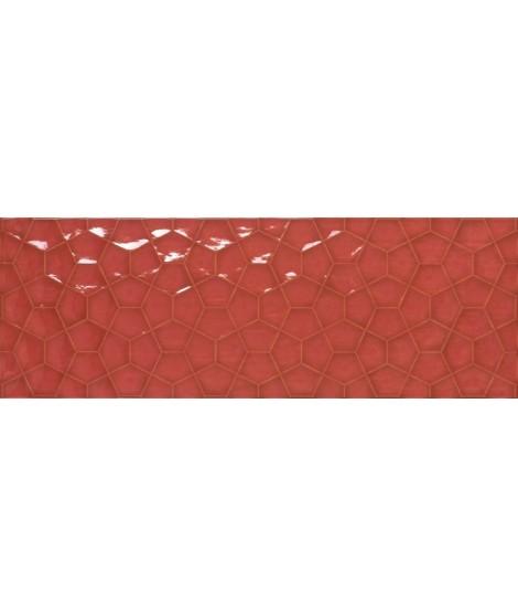 Faïence APE Allegra tina rectifié 31.6x90 RED