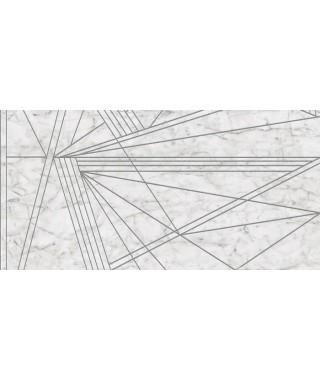 Carrelage imitation marbre Ape Vita décor luce rectifié mat 60x120 LUCE 1