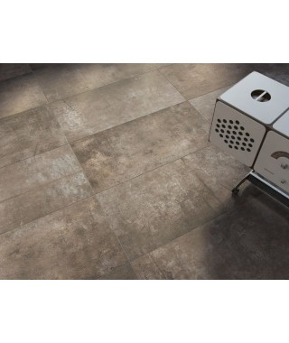Carrelage imitation bois béton Refin Plant rectifié 45X90