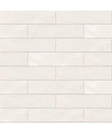 Carrelage mural Abk Crossroad Brick  7.5x30 WHITE