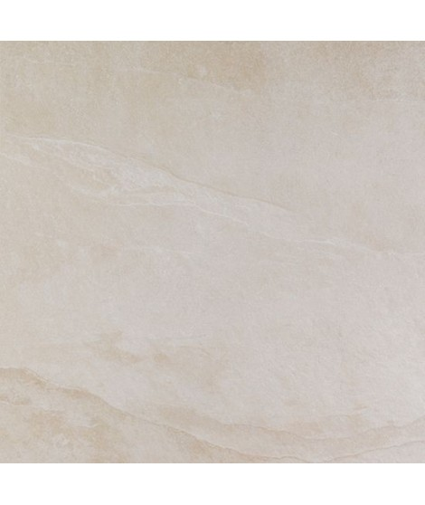 Carrelage extérieur Casainfinita Terranova rectifié structuré 75x75 Crema