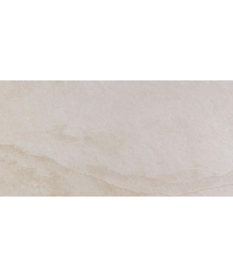 Carrelage extérieur Casainfinita Terranova rectifié structuré 37.5x75 Crema