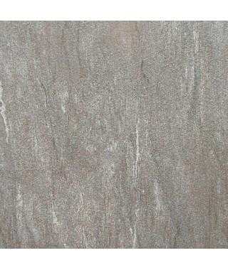 Carrelage extérieur 2cm Novoceram Cast gris 60x60 rectifié