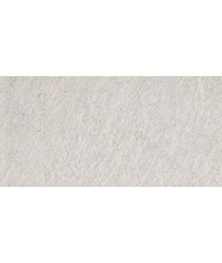 Carrelage extérieur 2cm Mirage Quarziti gris clair 30x60 rectifié