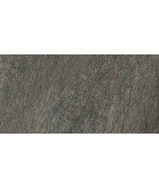Carrelage extérieur 2cm Mirage Quarziti gris foncé 30x60 rectifié