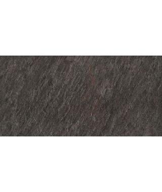 Carrelage extérieur 2cm Mirage Quarziti noir 30x60 rectifié