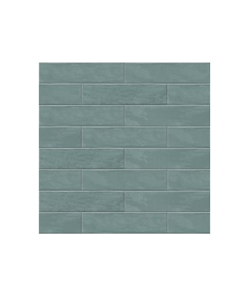 Carrelage Mural Abk Crossroad Brick Vert Fonce 7 5x30 Ain Carrelages