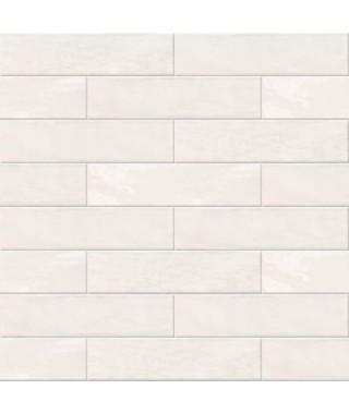 Carrelage mural ABK Crossroad Brick blanc 7.5x30