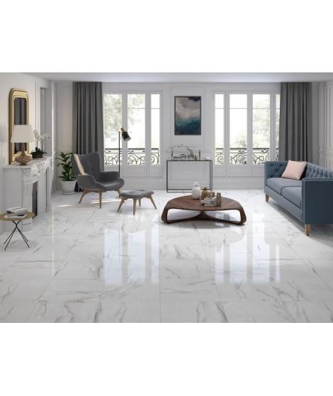 Carrelage Keratile Santorini blanc 60x60 - Ain carrelages