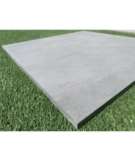 Carrelage extérieur 2cm Concrete gris 75x75 rectifié
