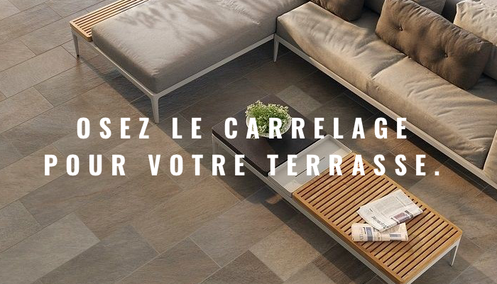 carrelage terrasse carrelage ext rieur en d stockage. Black Bedroom Furniture Sets. Home Design Ideas