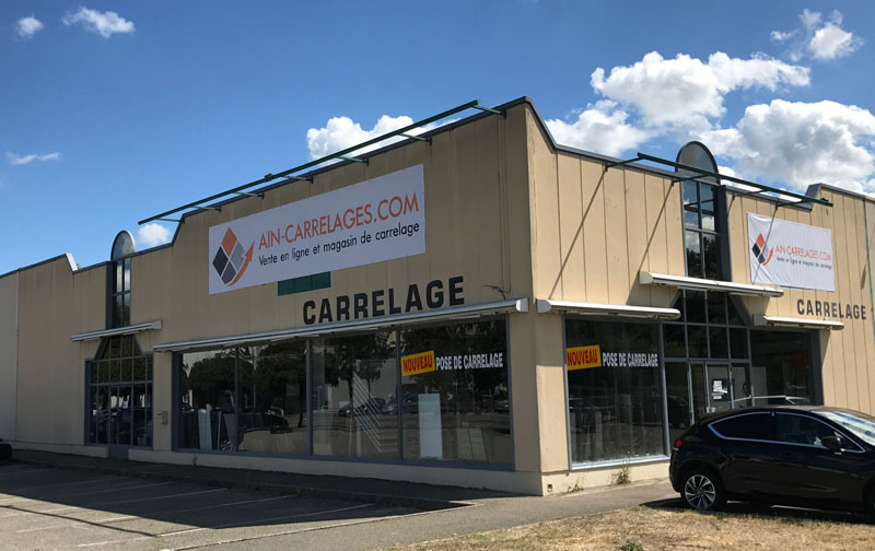 Magasin Ain Carrelages Bourg-en-Bresse